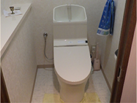 トイレ改装リフォーム(施工後)