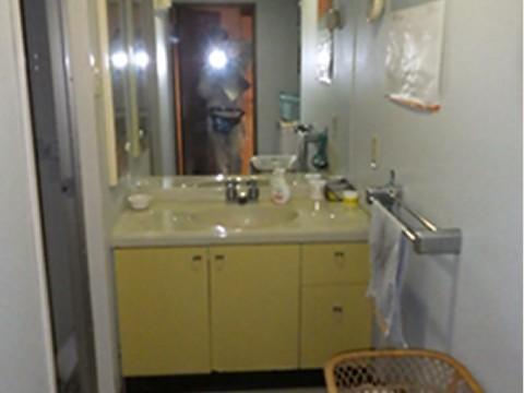 浴室・洗面改装リフォーム(施工前)